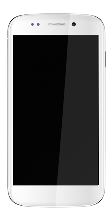 micromax canvas 4 front