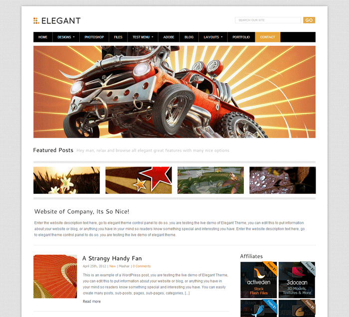 Elegant-Premium-Wordpress-Theme