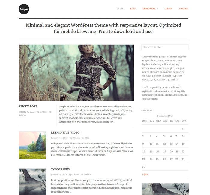Origin--Minimal-and-elegant-WordPress-theme-with-responsive-layout.-Optimized-for-mobile-browsing.-Free-to-download-and-use.