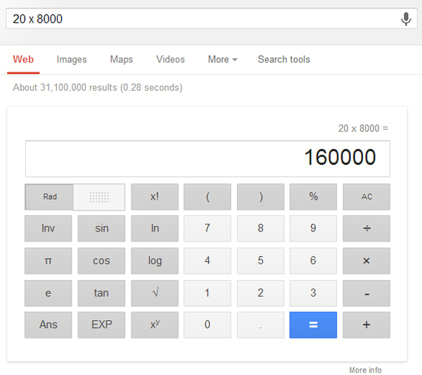 google-search-shortcut-calculate--everything