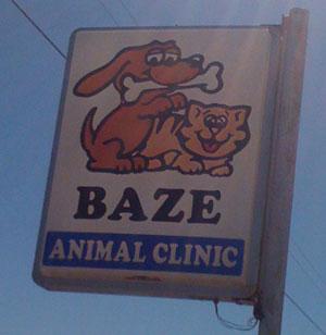 baze-animal-clicnic-bad-logo-design