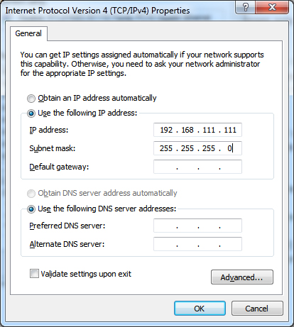 change-ip-address-manually