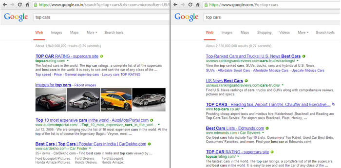google.com-and-google.co.in-both-return-different-results-for-same-search