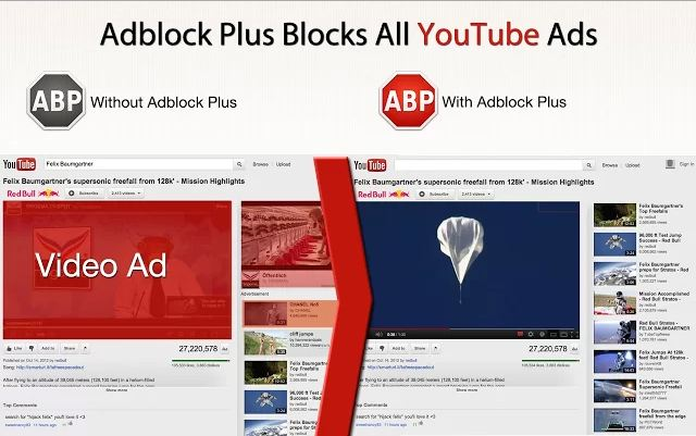 remove ads from youtube