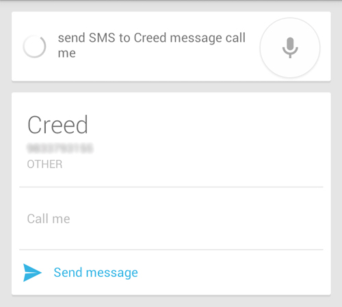 voice-command-to-send-a-message-android