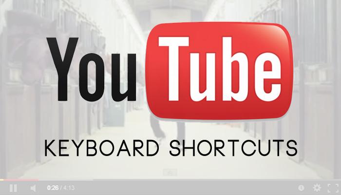 youtube-keyboard-shortcuts