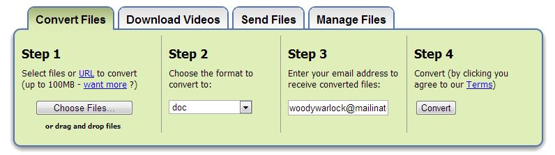 how to convert pdf files into word doccuments