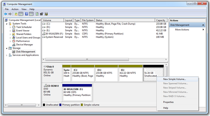 how-to-create-a-new-simple-volume-in-windows