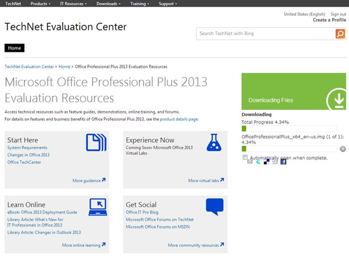 Microsoft-office-2013-60-day-trial-download-progress