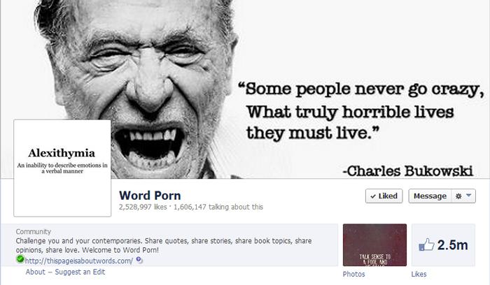 Word-porn-facebook-page