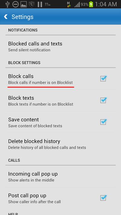 block-calls