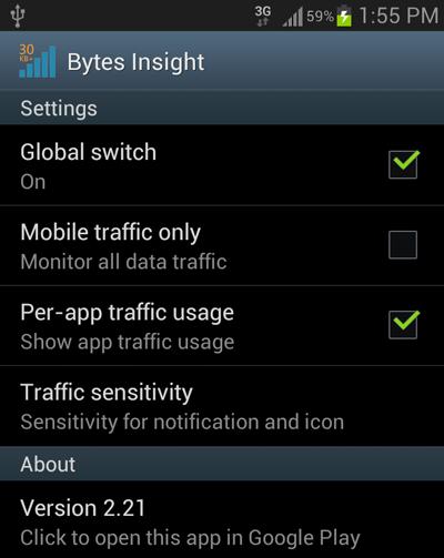 bytes-insight-settings