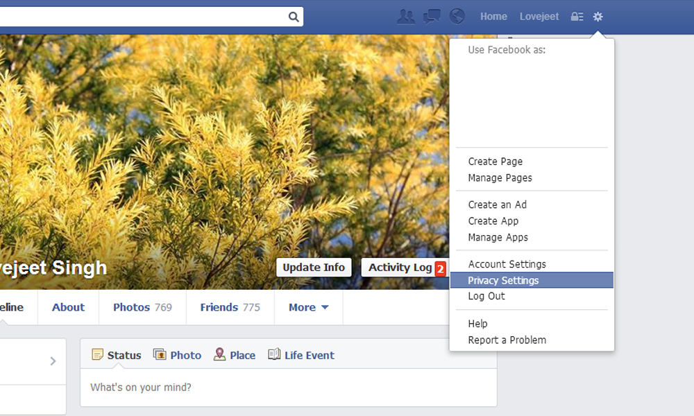 change-facebook-privacy-settings