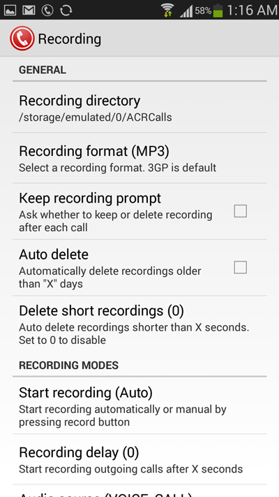 change-recording-directory-and-choose-recordign-format-call-recording