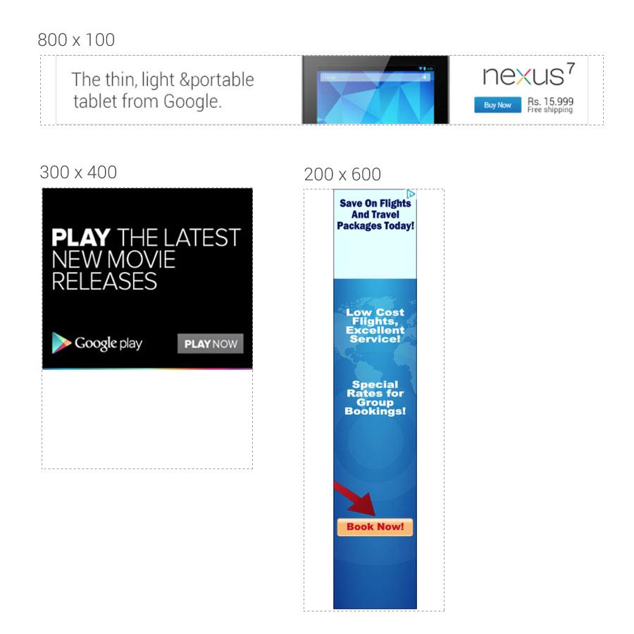 custom sized adsense ads image unit