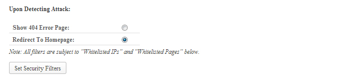 wordpress-firewall-upon-detecting-attacks-redirect-to-homepage