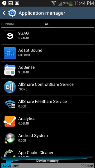 application-manage-android
