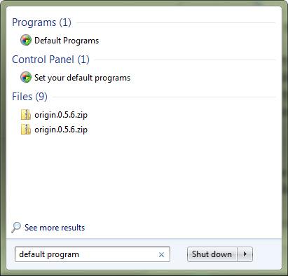 default-program