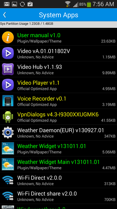 system-apps-on-android-bloatware