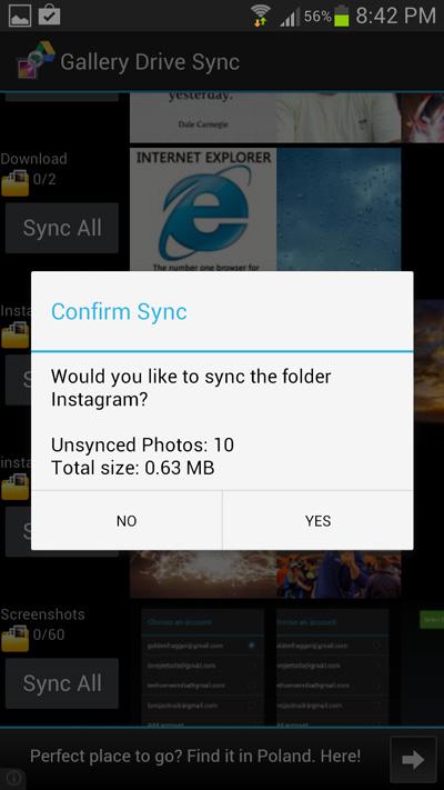 Confirm-sync
