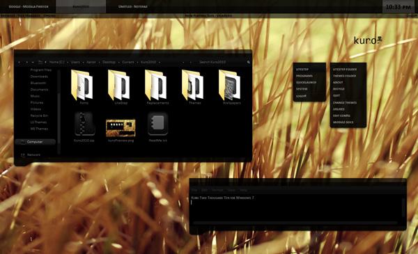 kuro-windows-7-theme