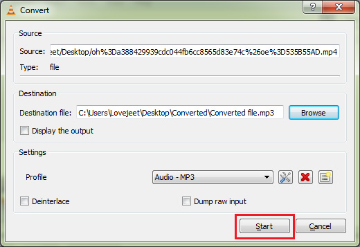 click-on-start-to-extarct-audio-from-video-files