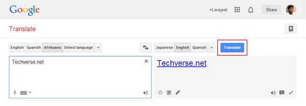 click-on-translate