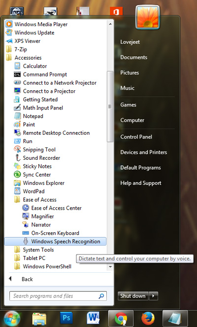 how-to-access-windows-speech-recognition-tool