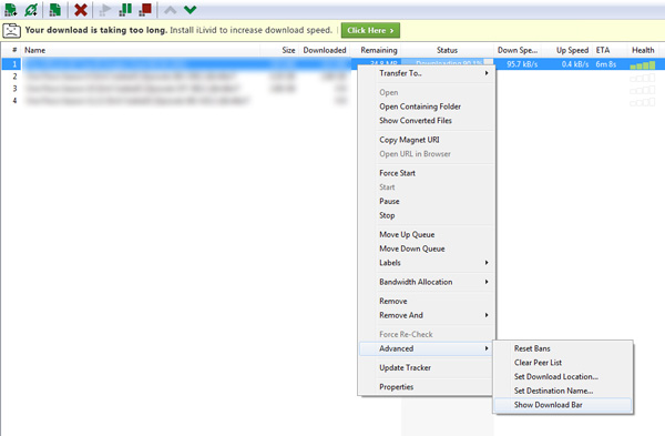 how-to-enable-the-download-bar-on-utorrent