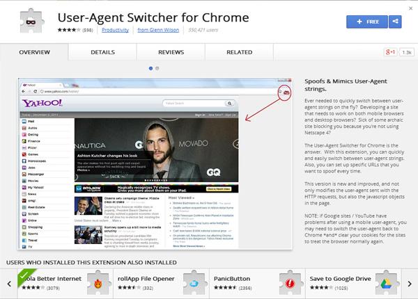 user-agent-switcher-for-google-chrome
