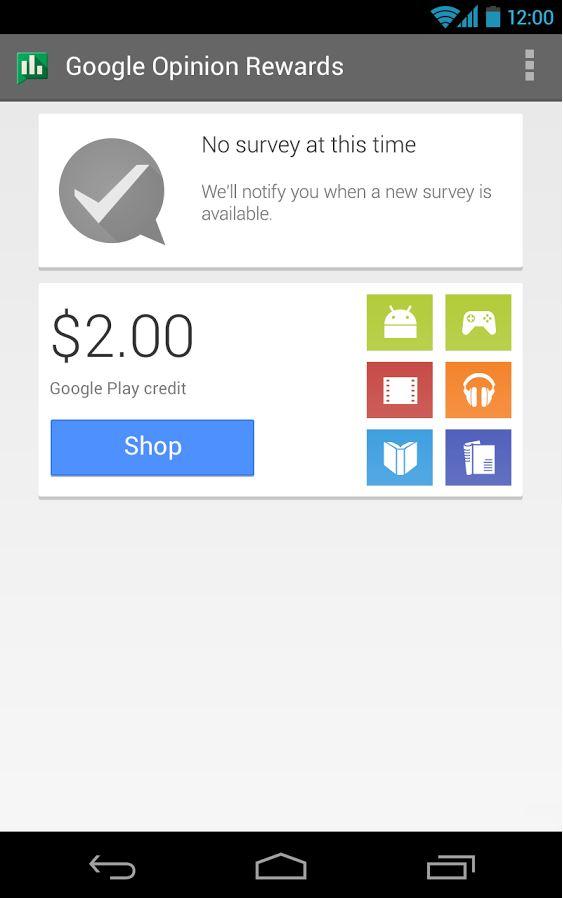 Google play store credit