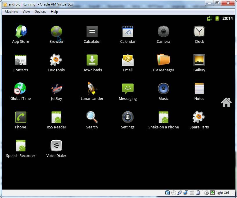 virtualbox android emulator